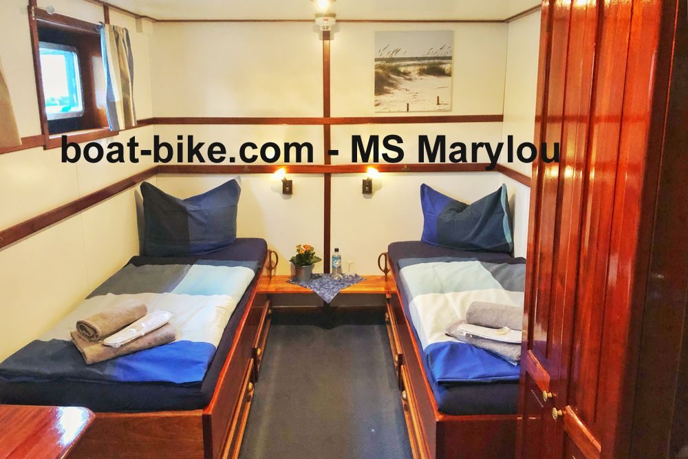 MS Marylou - twin bed