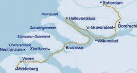 Zeeland Holland Karte.Boat Bike In Zeeland