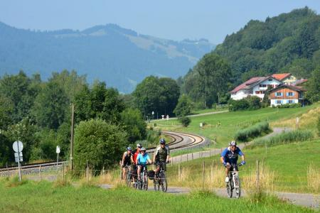 Cycling tour in the Allgäu